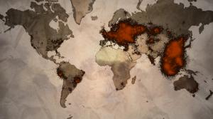 Mapa muestra cantidad de jugadores activos en el mundo.
