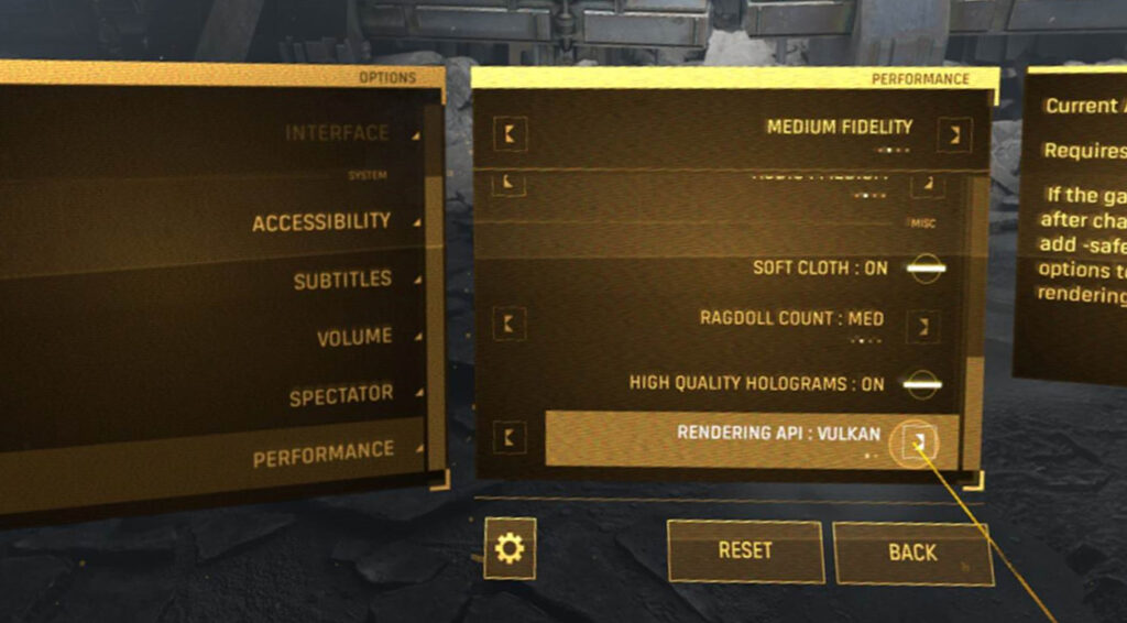Soporte para Vulkan API en Half-Life: Alyx